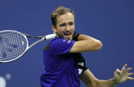Tenis ATP Finals : Hadapi Djokovic, Medvedev Mengaku Percaya Diri