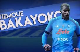 Bek Napoli Bakayoko Absen Latihan Jelang Laga Kontra Milan