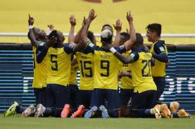 Hasil Pra-Piala Dunia 2022 : Ekuador Lumat Kolombia,…