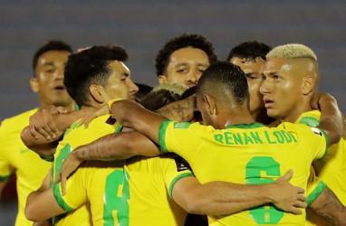 Hasil Pra-Piala Dunia: Brasil Sikat Uruguay, Paraguay Seri vs Bolivia