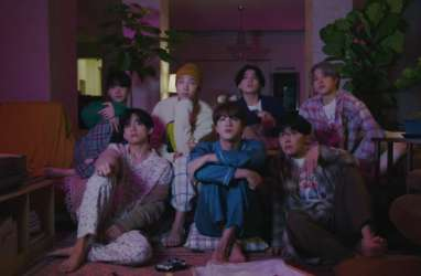BTS Luncurkan Teaser Video Klip 'Life Goes On'