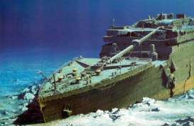 Ekspedisi ke Bangkai Kapal Titanic Dibuka pada 2021