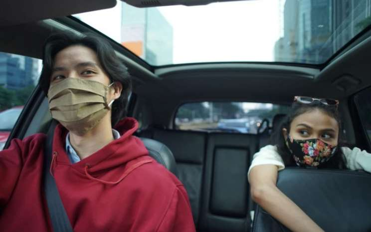 Film 'Jarak dan Waktu' bercerita tentang kisah pemuda-pemudi yang sedang dirajut asmara, cinta terpendam hingga kecemasan karena pandemi virus corona. - istimewa