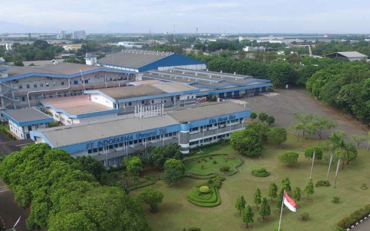 Pabrik PT Indofarma Tbk. Pada 2019, perusahaan farmasi milik negara itu berhasil mencetak laba setelah tiga tahun menderita kerugian. - indofarma.id