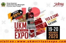 Belanja di UKM Virtual Expo, Bonus Diskon 20 Persen dan Bebas Ongkos Kirim