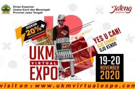 Belanja di UKM Virtual Expo, Bonus Diskon 20 Persen…