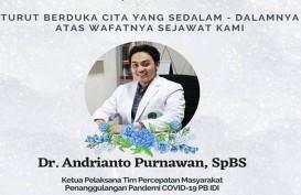 Dokter Satgas IDI, Andrianto Purnawan, Meninggal Akibat Covid-19