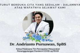 Dokter Satgas IDI, Andrianto Purnawan, Meninggal Akibat…