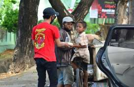 Aksi Sosial Pendukung PSM Makassar untuk Masyarakat Terdampak Pandemi