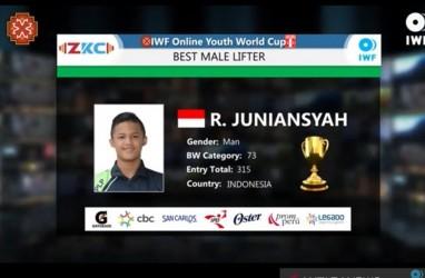 Rizky Juniansyah Dinobatkan Jadi Lifter Remaja Terbaik di Kejuaraan Dunia