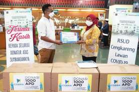Cobra Dental Donasikan 1.000 APD ke RS Cengkareng