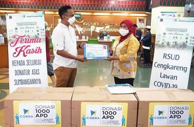 Cobra Dental Donasikan 1.000 APD ke RS Cengkareng