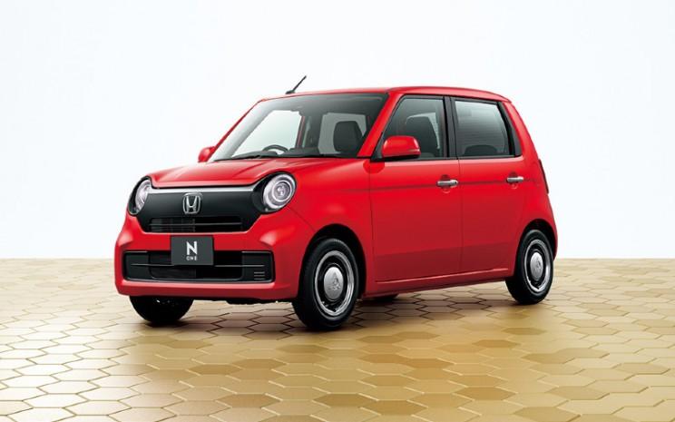 Honda N-One. Inilah perwujudan konsep M / M Honda yang diwarisi dari N360, titik awal mobil penumpang Honda.  - Honda