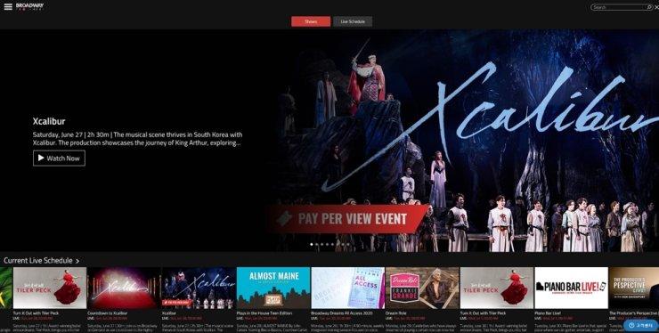 Pertunjukan teater di Korea Selatan dilakukan secara virtual. - ilustrasi