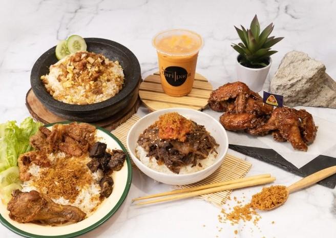 Hangry membawahi lima brand kuliner yaitu San Gyu, Moon Chicken, Dari Pada, Nasi Ayam Bude Sari, dan Ayam Koplo.