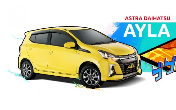 Daihatsu Ayla. Bagi konsumen yang ingin melakukan tukar tambah, Mobil88 akan melakukan appraisal kepada mobil lama konsumen di area Jabodetabek dan Bandung.  - ADM