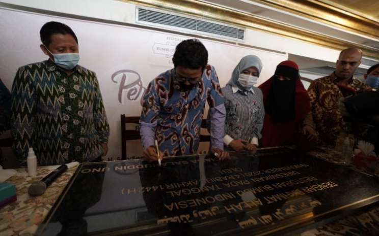 Restoran Bumbu Indonesia melakukan ekspansi ke Mesir. - Istimewa