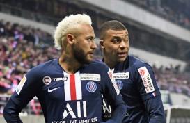 Hasil Liga Prancis : PSG Disikat Monaco, Kekalahan Ketiga
