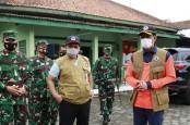 Tinjau Pengungsian Gunung Merapi, Kepala BNPB Ingatkan Protokol Kesehatan