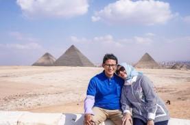 Ungkapkan Cinta, Sandiaga Uno Bandingkan Piramida…