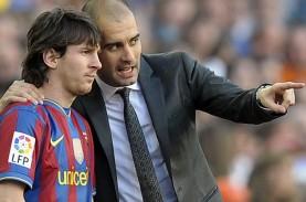 Bos ManCity Guardiola Ingin Messi Selesaikan Karir…