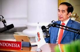 Presiden Joko Widodo Hadiri KTT G20 Virtual dari Istana Bogor