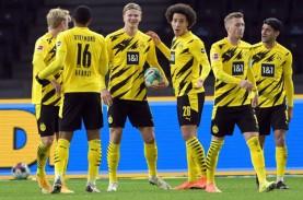 Hasil Bundesliga : Haaland Cetak 4 Gol, Dortmund Pesta…