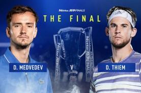 Nadal Ikut Djokovic Kandas, Thiem vs Medvedev di Laga…