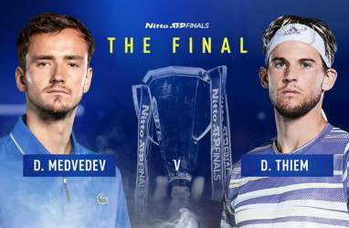 Nadal Ikut Djokovic Kandas, Thiem vs Medvedev di Laga Puncak ATP Finals