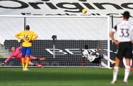 Hasil Liga Inggris : Everton Balik ke Jalur Kemenangan, Sikat Fulham