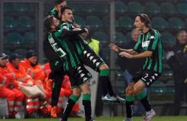 Hasil Lengkap Liga Italia : Sassuolo Pimpin Klasemen, Gusur Milan