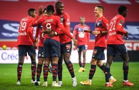 Hasil Liga Prancis, Lille Pangkas Jarak Nilai dari PSG