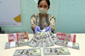 Kurs Jual Beli Dolar AS di BCA dan BRI, 23 November…