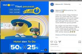 Promo Diskon Tiket.com Dimulai Hari Ini, Tiket Pesawat…