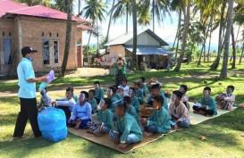 Anak-anak di Pasir Jambak Diedukasi Gaya Hidup Bersih dan Sehat