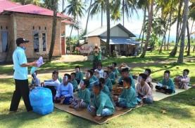 Anak-anak di Pasir Jambak Diedukasi Gaya Hidup Bersih…