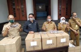 200.000 Masker Buatan UMKM Bantuan Pemprov Jabar Didistribusikan ke Kota Bandung