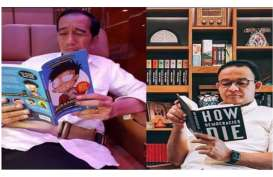 Beda Gaya Anies vs Jokowi Baca Buku, Ini Analisis Rocky Gerung