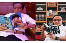 Beda Gaya Anies vs Jokowi Baca Buku, Ini Analisis…