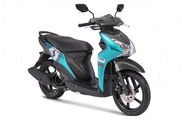 Yamaha Mio. Menjelang akhir tahun, Yamaha Indonesia cukup agresif memperkenalkan jajaran skutiknya.  - YAMAHA