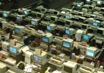Suasana di Bursa Efek Jakarta pada 2007./Antara - Jefri Aries