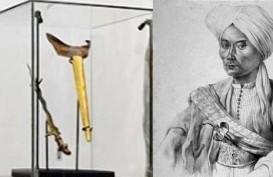 Menghilang Ratusan Tahun di Belanda, Ini Kisah Keris Kiai Nogo Siluman Milik Pangeran Diponegoro