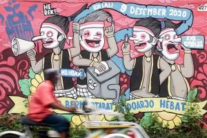 Sosialisasi Pilkada Serentak 2020 Melalui Mural