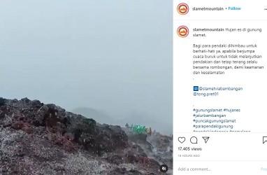 Fenomena Hujan Es Viral di Media Sosial, Apa Penyebabnya?
