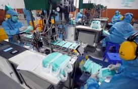 HargaProduk Impor Lebih Murah, Produksi Masker Medis Lokal Anjlok