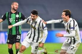 Atasi Ferencvaros dengan Susah Payah, Juventus Susul…