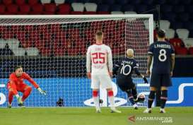 Tendangan Penalti Neymar Selamatkan PSG dari Hasil Imbang Atas Leipzig