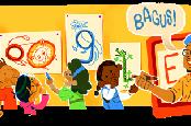 Google Doodle Tampilkan Pak Tino Sidin di Hari Guru Nasional, 25 November