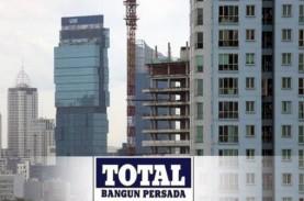 Total Bangun Persada (TOTL) Raup Kontrak Baru Rp826…