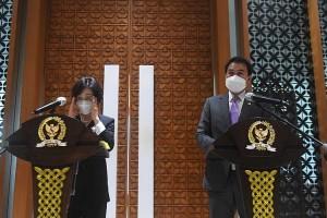 Wakil Ketua Parlemen Korea Selatan Kim Sanghee Melakukan Kunjungan Ke DPR